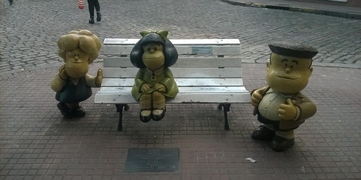 Historietas de Mafalda, por primera vez en lenguaje braille