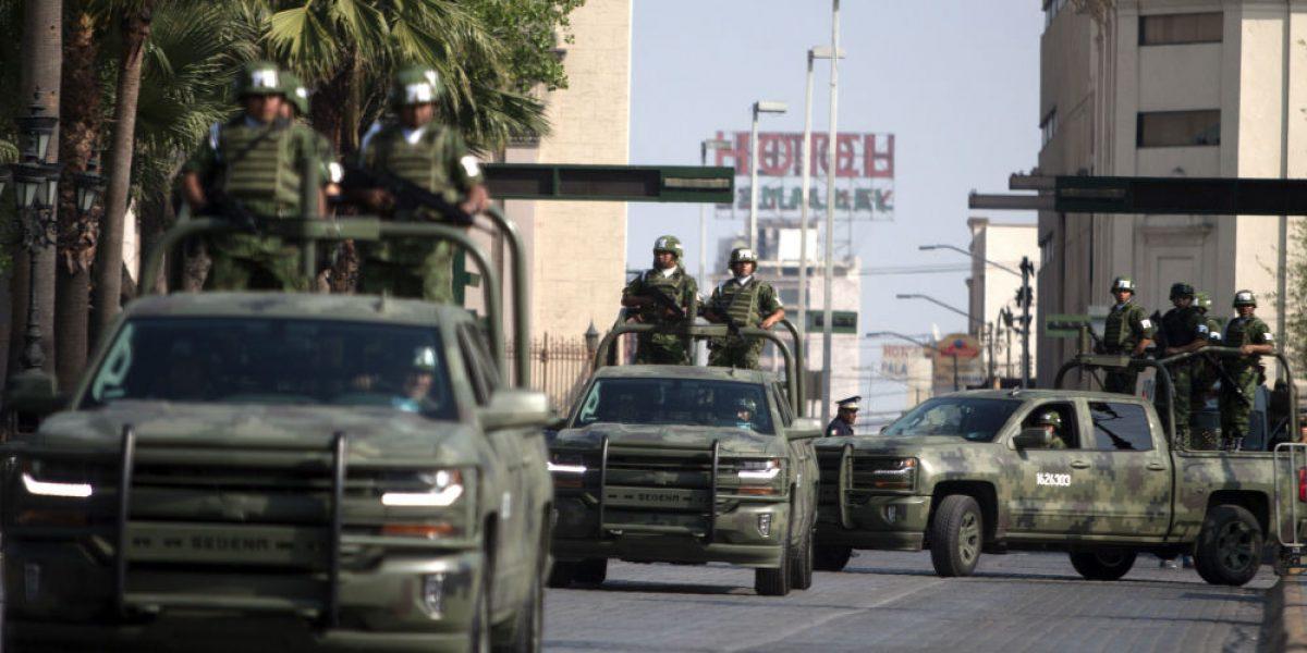 Fortalecen seguridad en Nuevo León con más de 500 militares