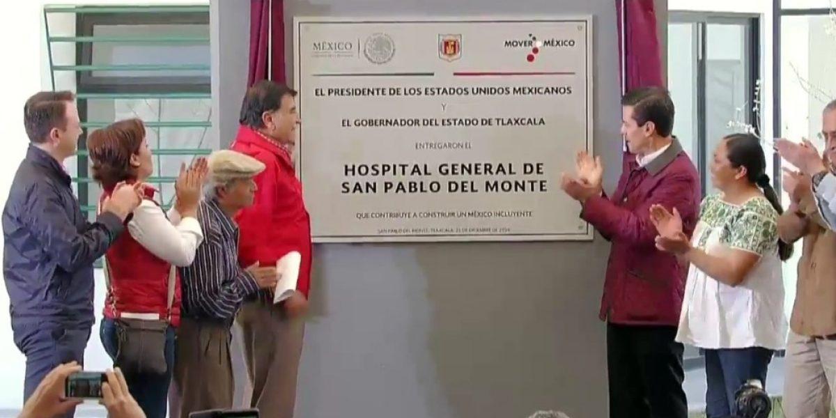 Peña Nieto guarda minuto de silencio por víctimas de explosión en Tultepec
