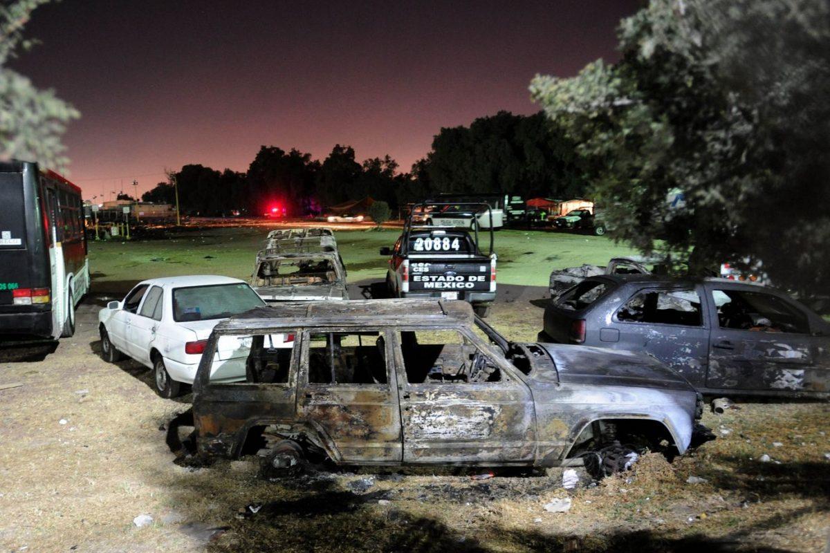 Explosión Tultepec.. Imagen Por: Explosión Tultepec. Foto | Cuartoscuro
