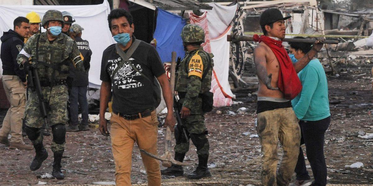 Galería: lo que dejó la explosión en Tultepec