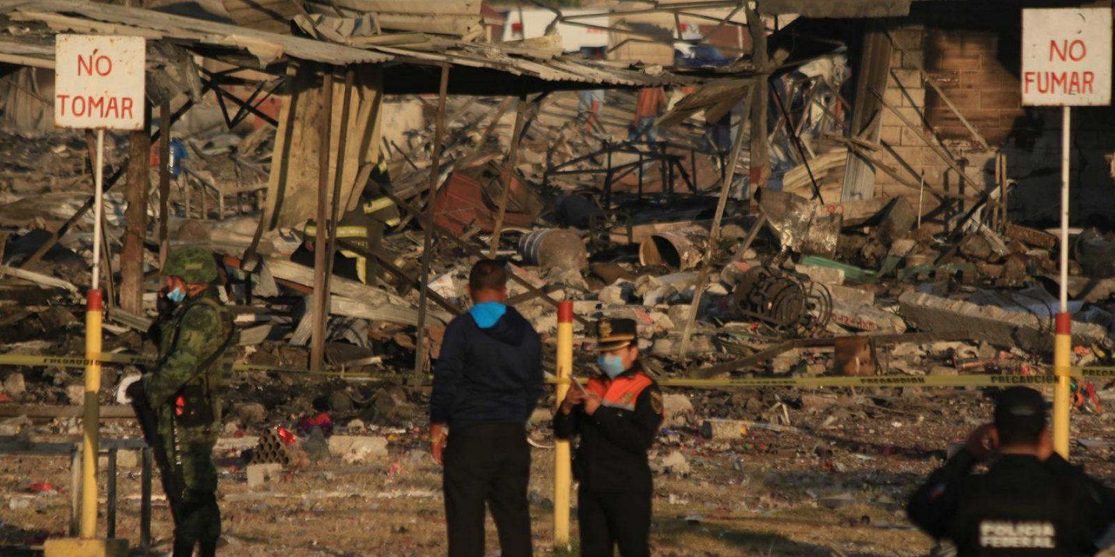 Explosión Tultepec. Imagen Por: Explosión Tultepec. Foto | Cuartoscuro