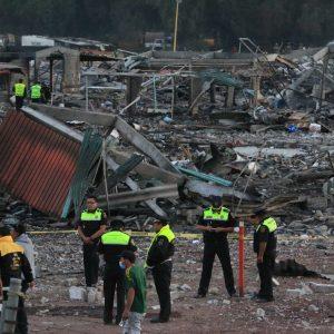 Explosión en Tultepec. Foto | Cuartoscuro
