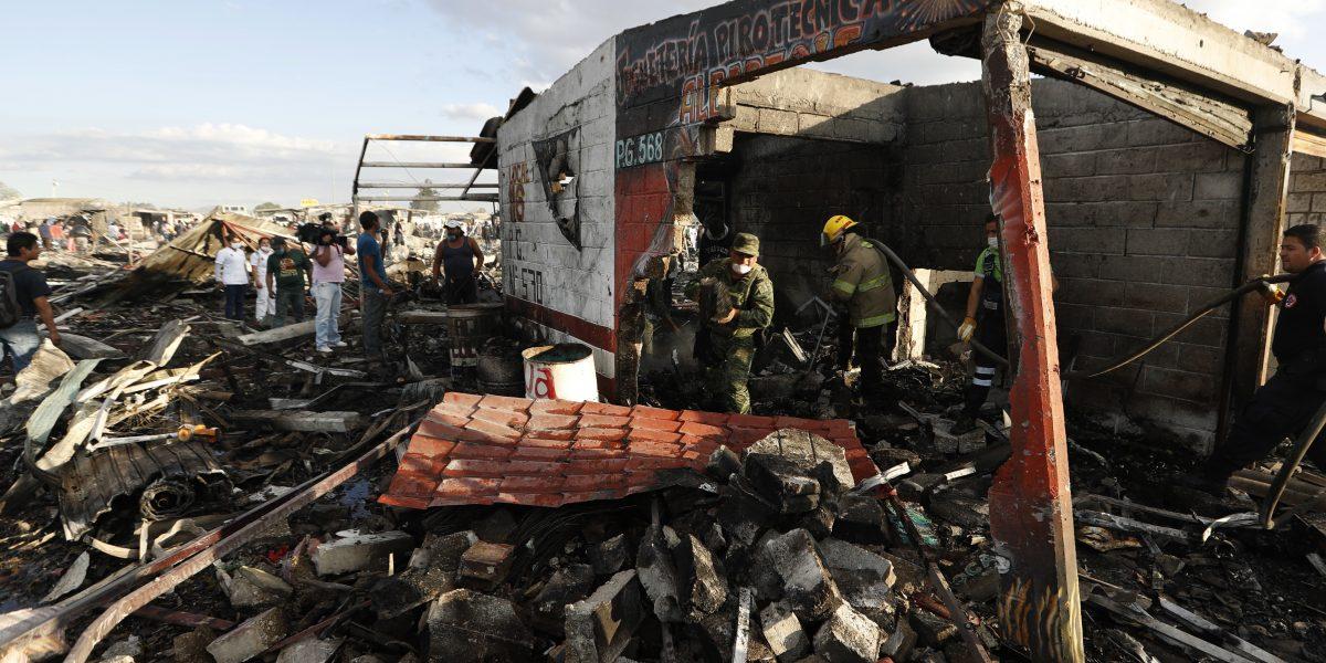 Solidaridad internacional con México tras explosión en Tultepec