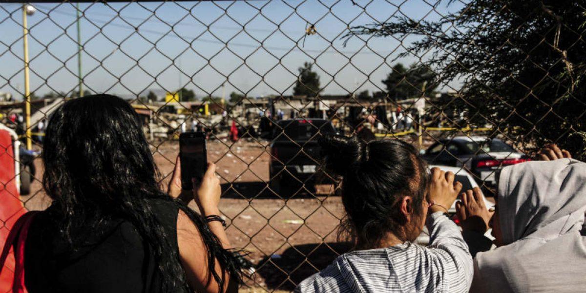 Suman 34 muertos por explosión en San Pablito
