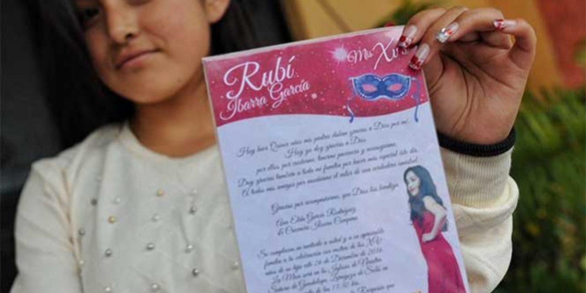 Rubí está deprimida; duda que Espinoza Paz vaya a su fiesta