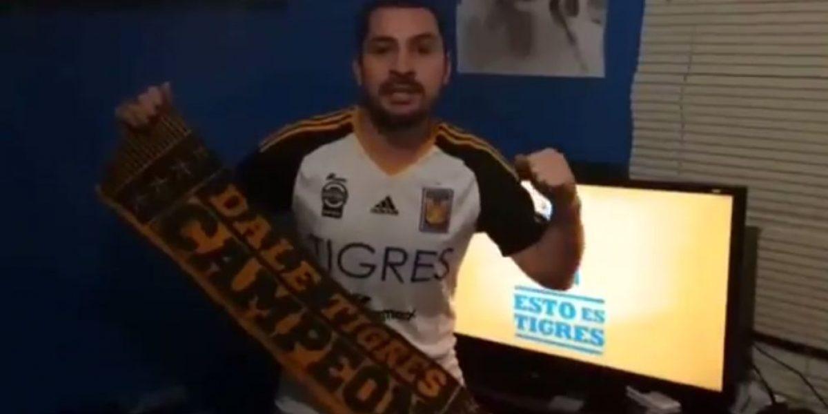 El video con el que fans de Tigres motivan a sus jugadores