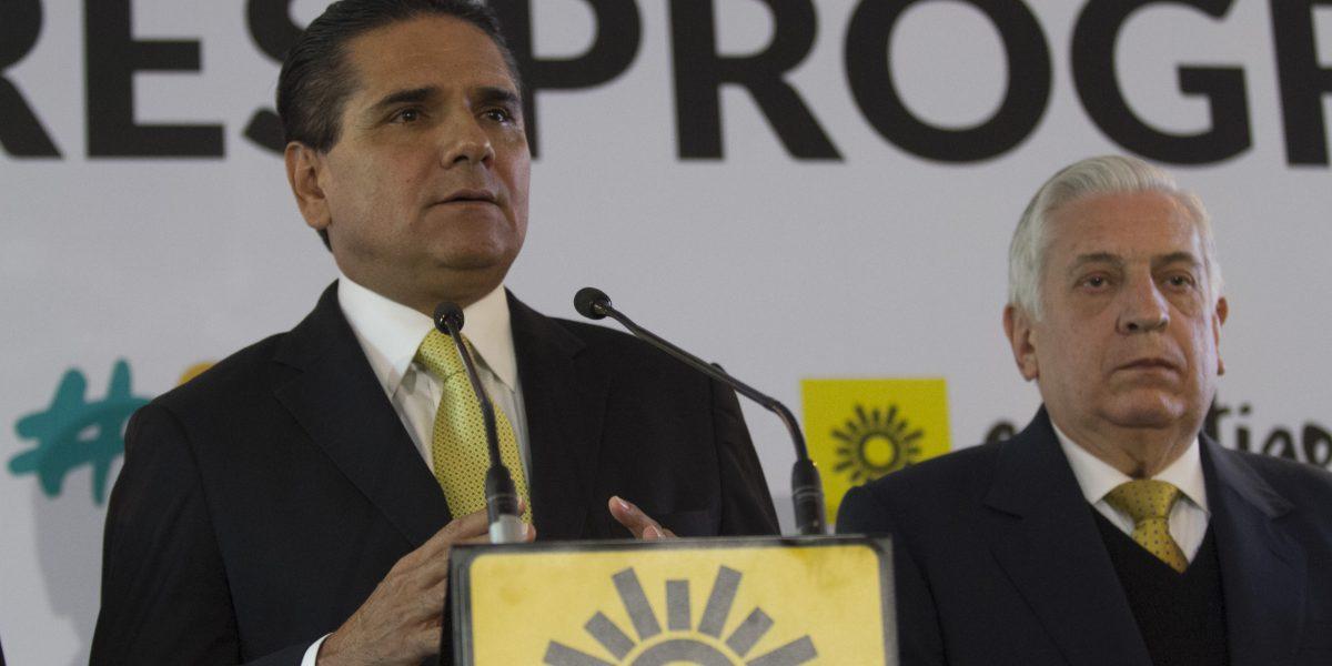 Aureoles denuncia desvío de 500 mdp de SSP de Michoacán