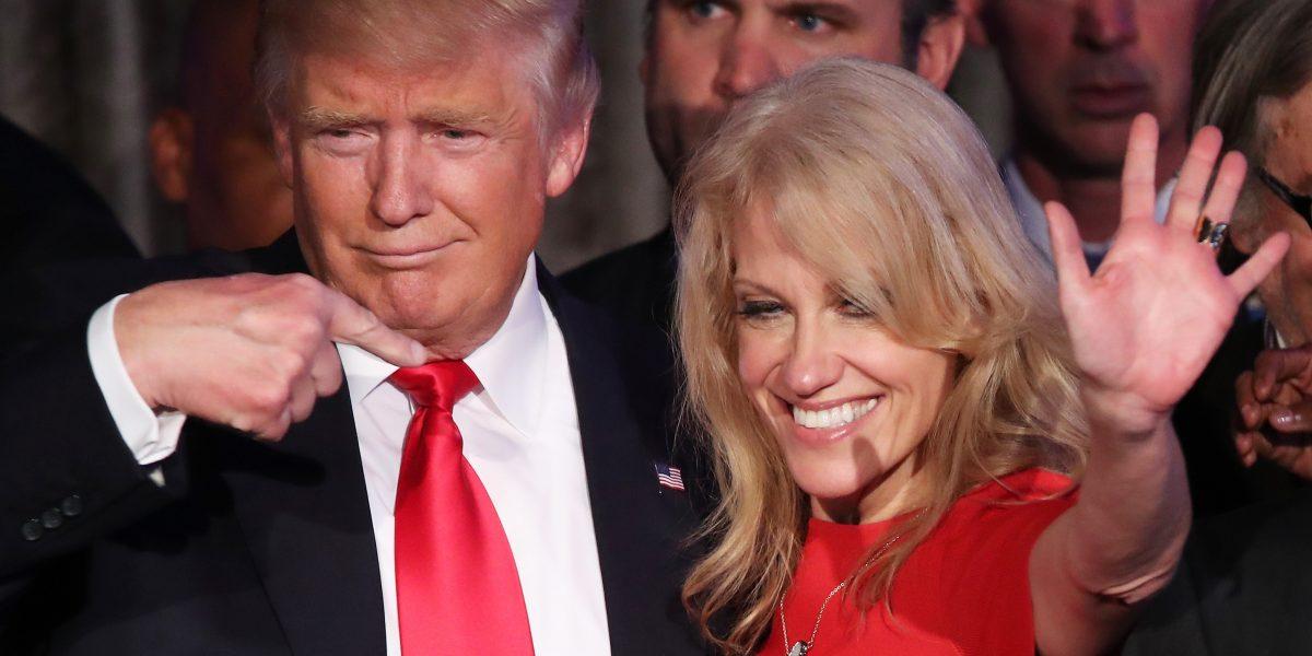Donald Trump nombra a Kellyanne Conway como asesora presidencial