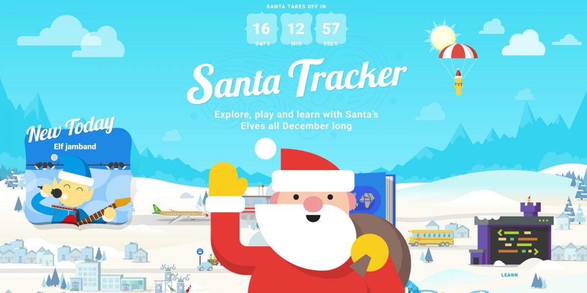 Google Maps: Desde aquí pueden seguir el paso de Santa Claus en vivo