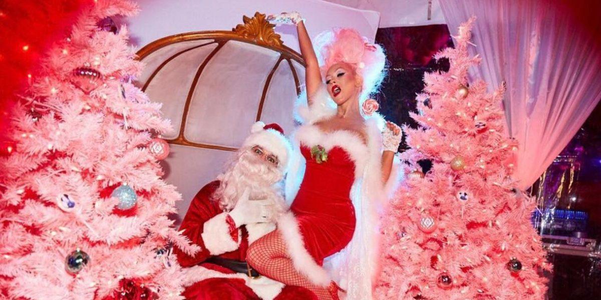 Famosas se preparan para recibir a Santa esta Navidad