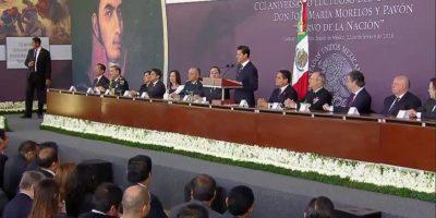 Morelos inspira al gobierno de EPN. Imagen Por: Presidencia de la República