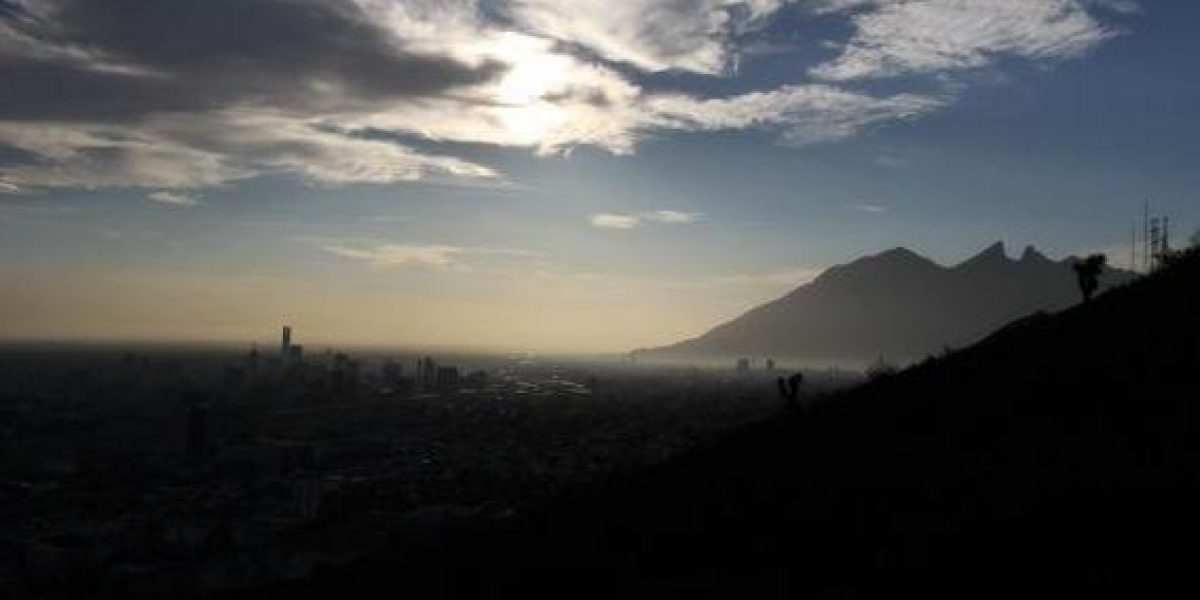 Reportan mala calidad del aire en Monterrey
