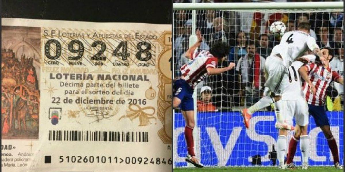Gracias a Sergio Ramos aficionado gana la lotería en España