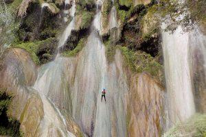 taxco-rappel-cascada-1-miguel-jimenez. Imagen Por: Taxco te ofrece paseos cargados de adrenalina. | Miguel Jiménez