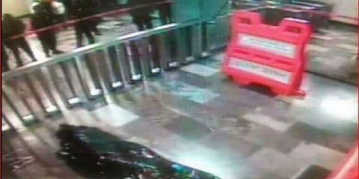 Fallece hombre en el Metro Allende