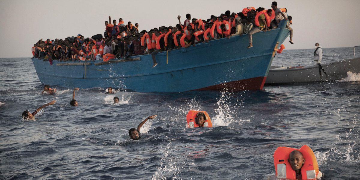 Más de cinco mil migrantes murieron en el Mediterráneo durante 2016