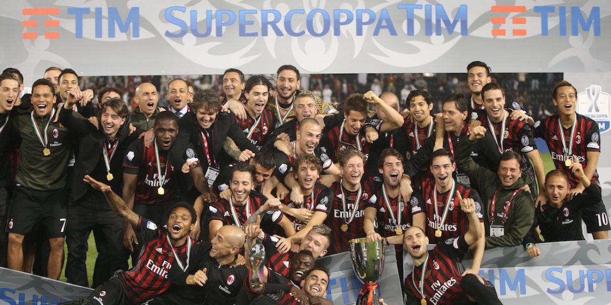 Milan derrota a la