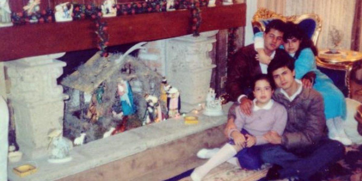 Peña Nieto comparte fotografía navideña junto a sus hermanos