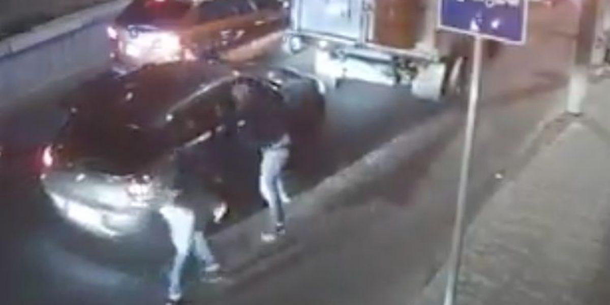 Captan asalto a automovilista en Tacubaya