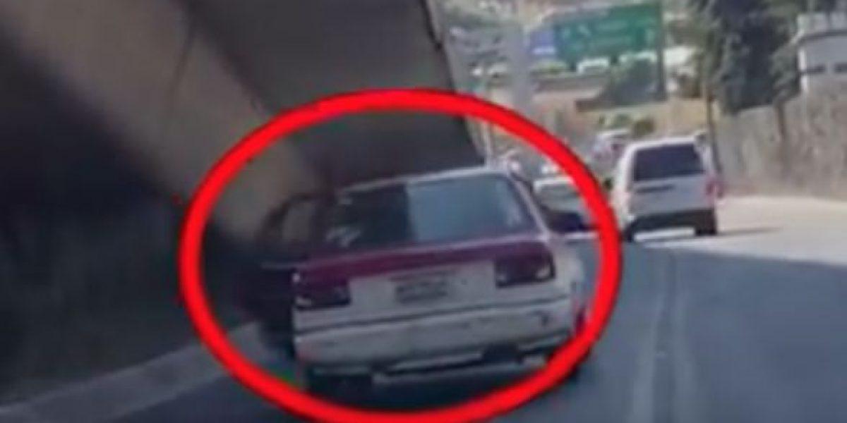 Graban presunto secuestro en la CDMX