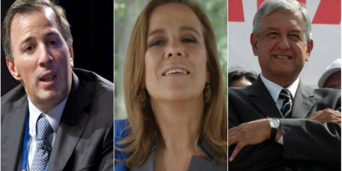 Políticos desean feliz Navidad a los mexicanos