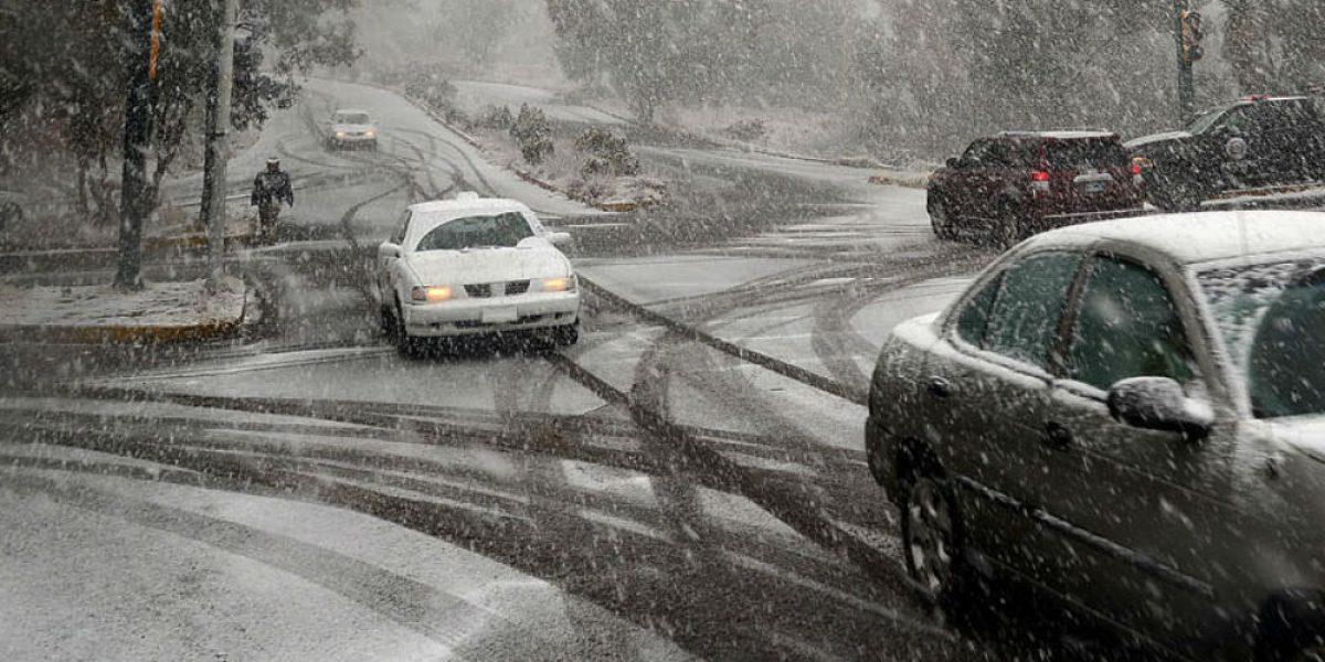 Prevén caída de nieve en Baja California, Sonora y Chihuahua por frente frío