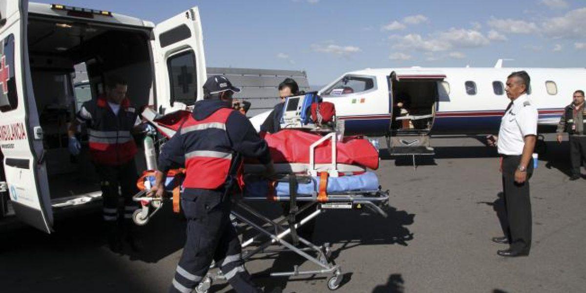 Trasladan a Texas a menor herido por explosión en Tultepec