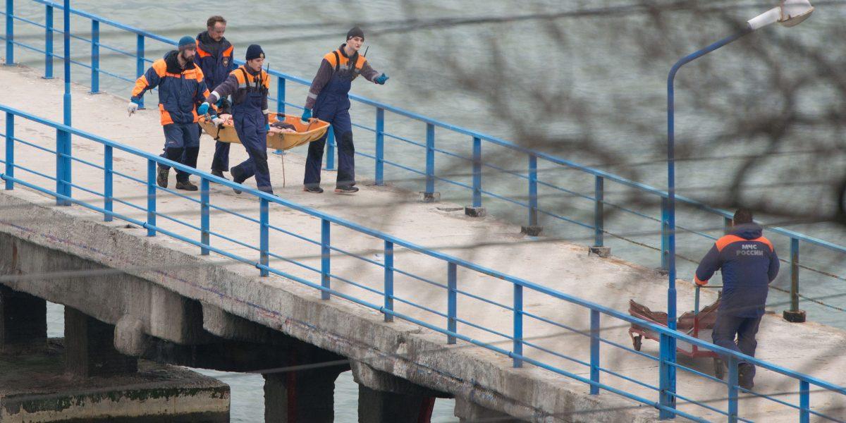 Se estrella avión ruso en el mar Negro; había 92 personas a bordo