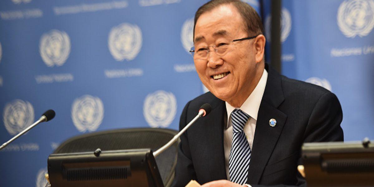A días de dejar la ONU, Ban Ki-moon exalta su máximo logro