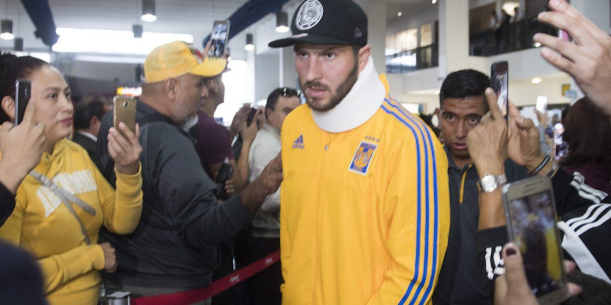 André-Pierre Gignac sí jugará la Final ante América
