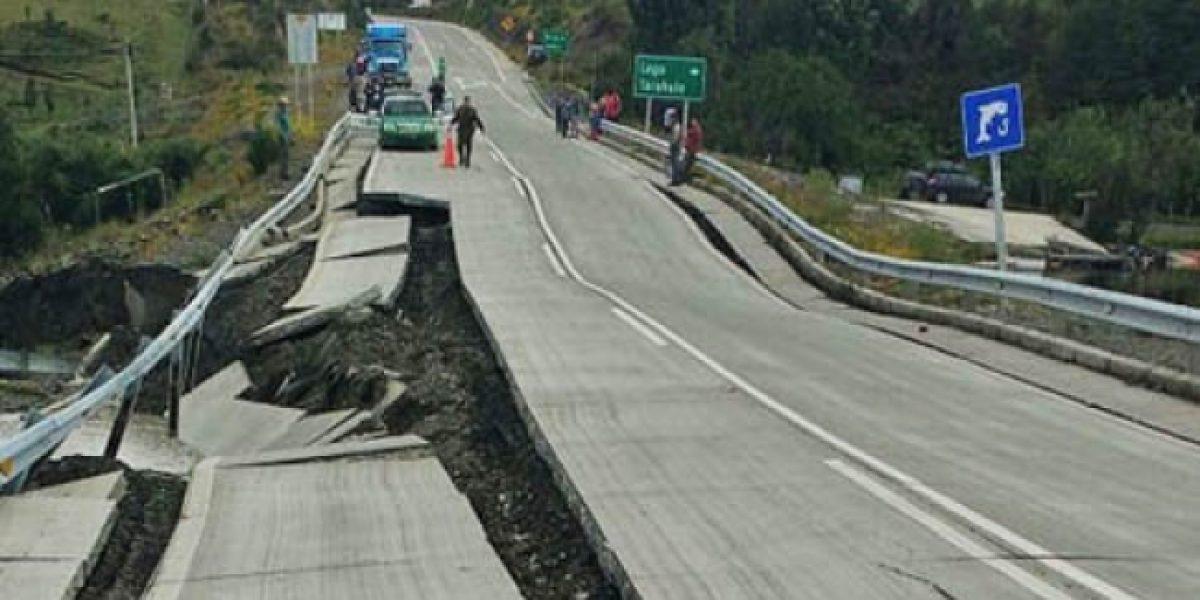 Autoridades reportan 11 réplicas luego del temblor en Chile