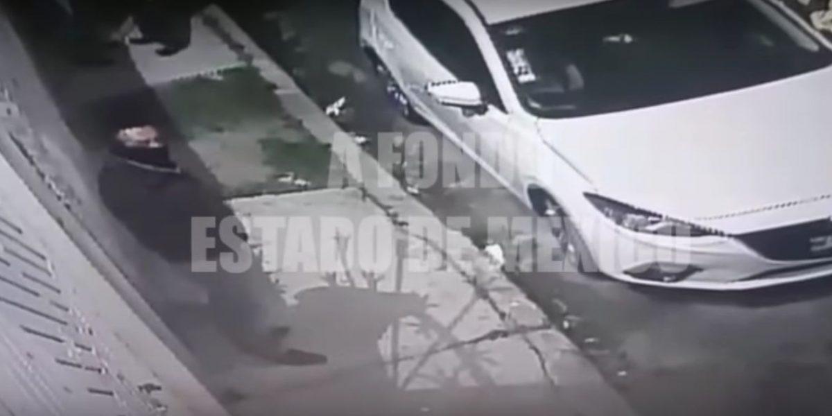 VIDEO: Captan robo de llantas en el Edomex