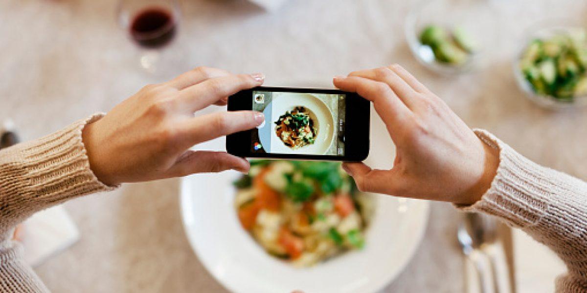 Consejos para tomar una buena foto ¡a la comida!