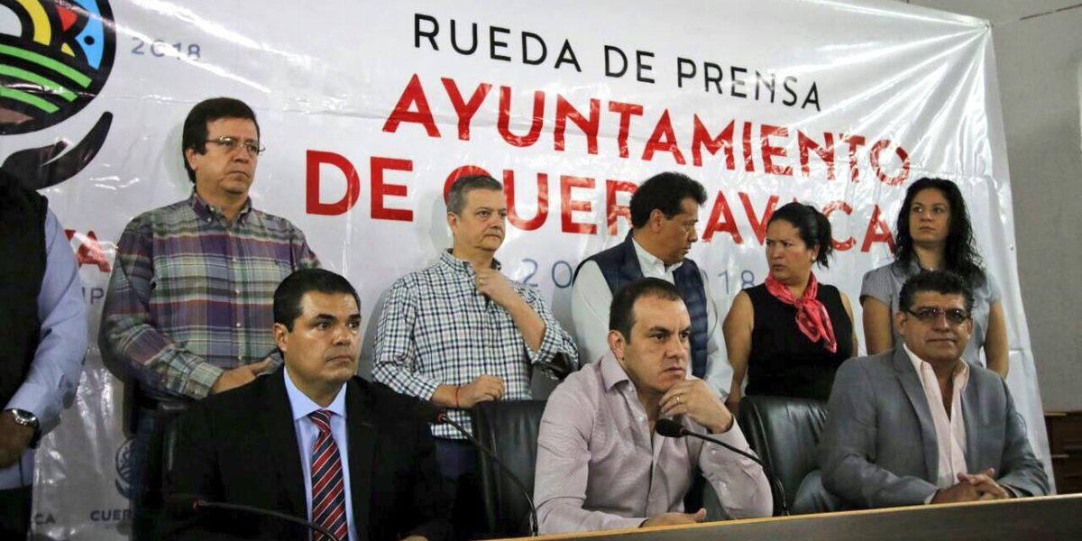 Cuauhtémoc Blanco finaliza convenio de colaboración con Mando Único