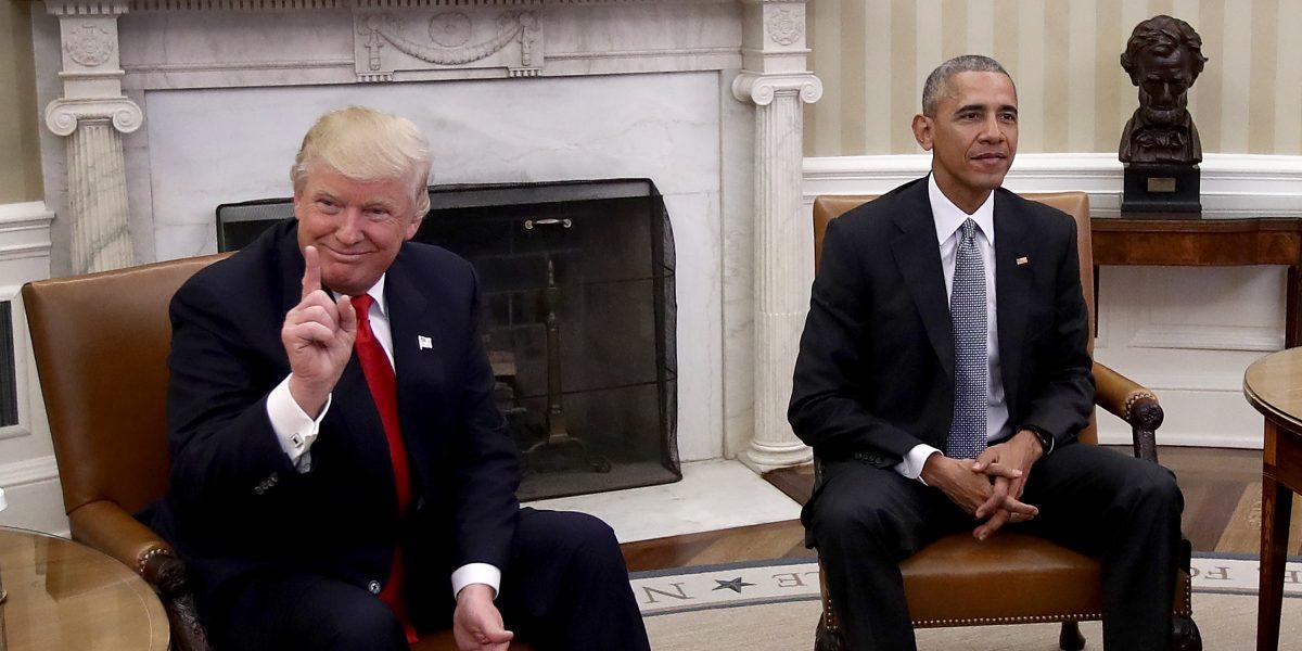 Obama dice que le pudo ganar a Trump en las elecciones presidenciales