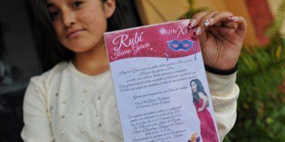 © Todos los derechos reservados. Imagen Por: Esta fue la verdadera invitación a su fiesta | Foto: Cuartoscuro