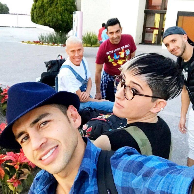 """XV de Rubí con el elenco de """"Hoy"""". Imagen Por: Instagram"""