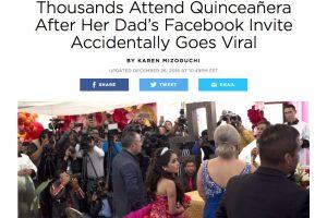 Medios Internacionales destacan la fiesta de XV años de Rubí. Imagen Por: Revista People - Estados Unidos