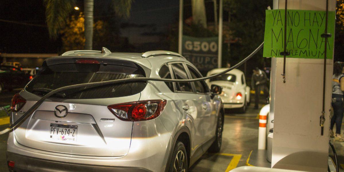 Gasolinas suben 20% y el salario apenas 3.9 % en 2017