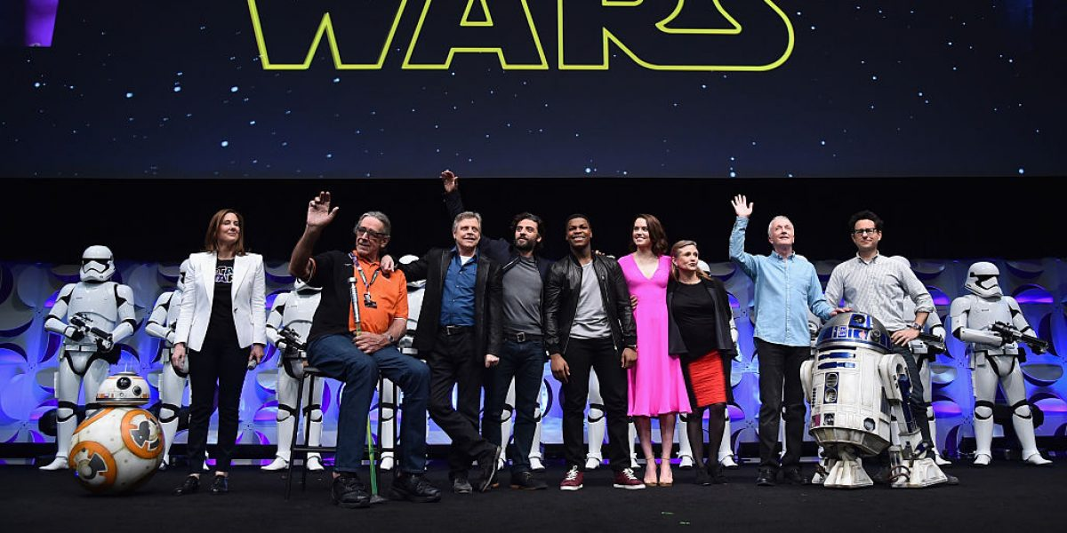 Así recuerdan Harrison Ford, George Lucas y JJ Abrams a Carrie Fisher
