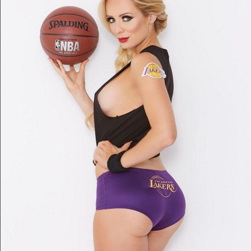 . Imagen Por: FOTOS: Annelise Marie, hermosa aficionada de Lakers y Broncos. / Instagram: annelisejr