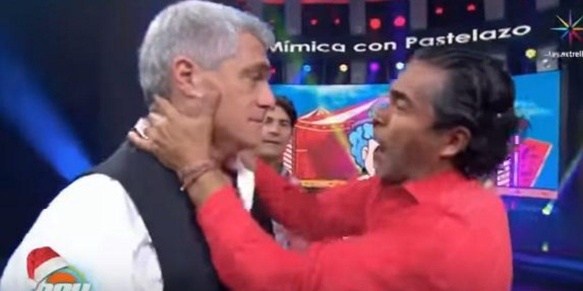 Amor en HOY: Lisardo y Raúl Araiza sorprenden con beso en la boca