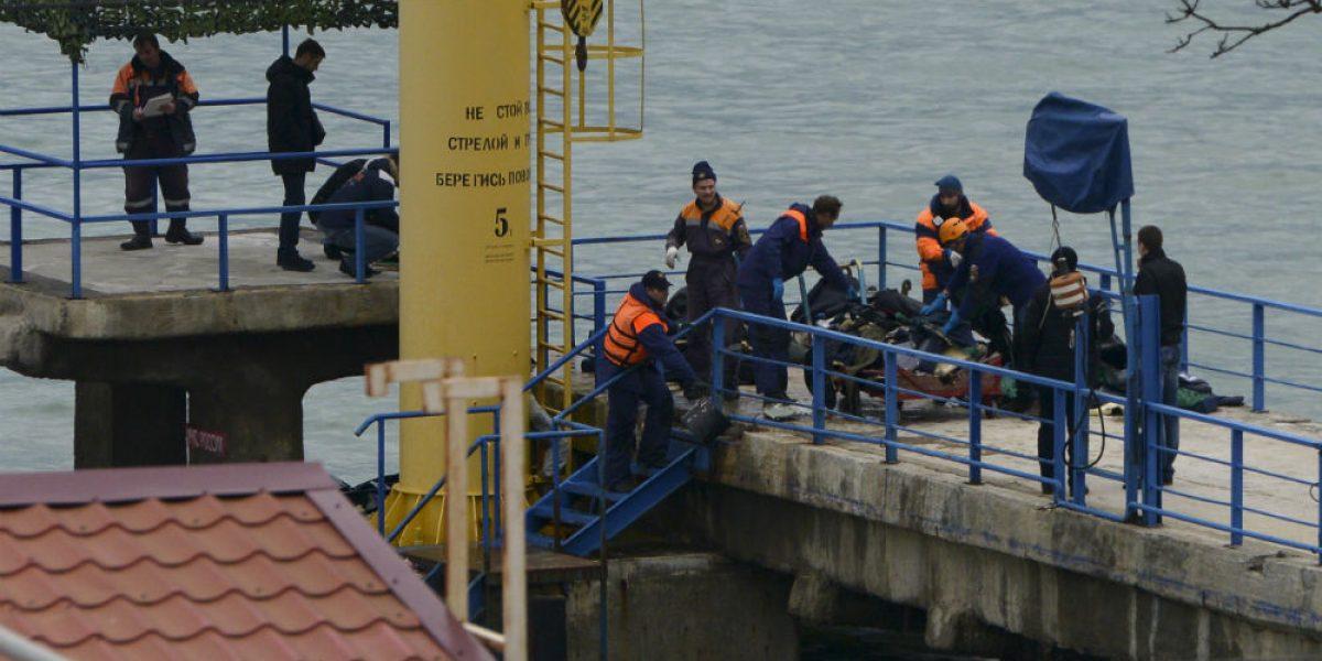 Hallan restos de avión ruso a 30 metros de profundidad en el Mar Negro
