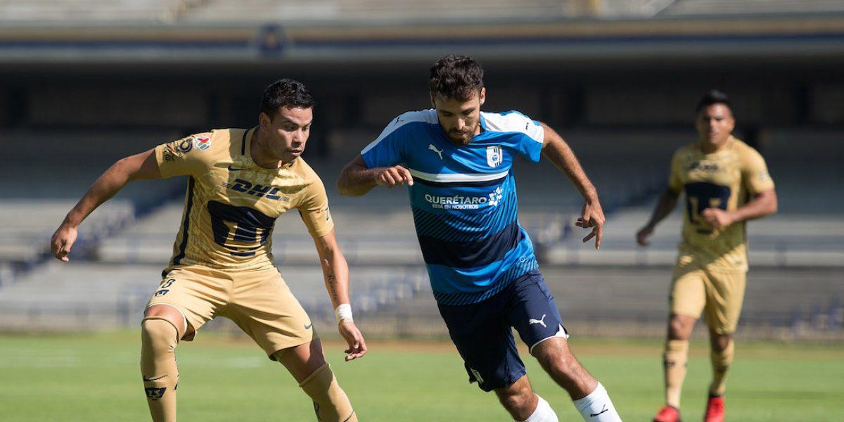 Querétaro propina goleada a los Pumas en CU