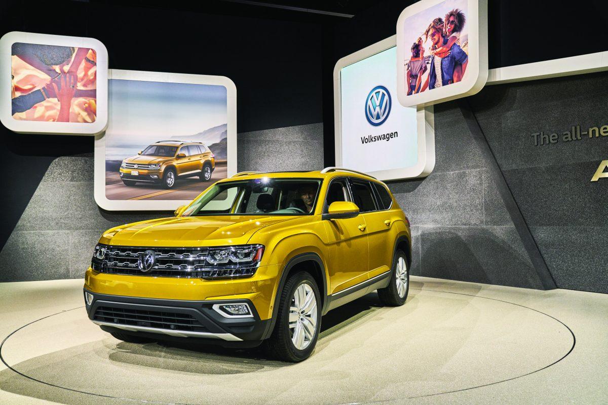 © ANDREW TRAHAN. Imagen Por: Así se veía en la presentación del Auto Show en LA. | Volkswagen