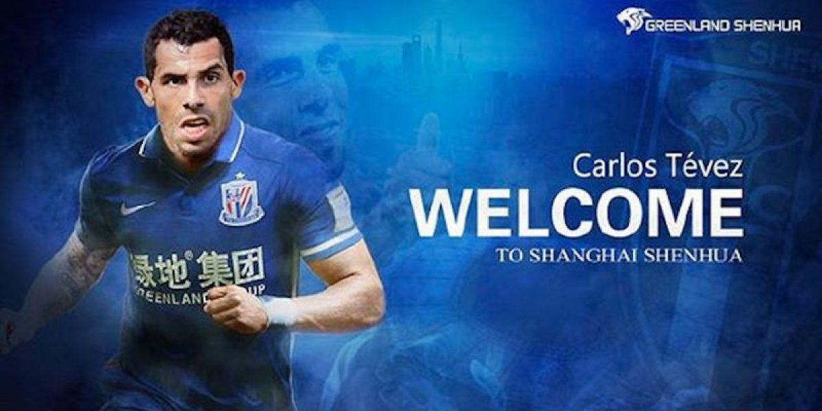 Carlos Tévez jugará en China