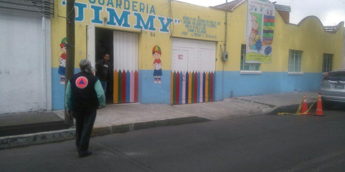 Denuncian negligencia en muerte de bebé de tres meses en guardería en Azcapotzalco