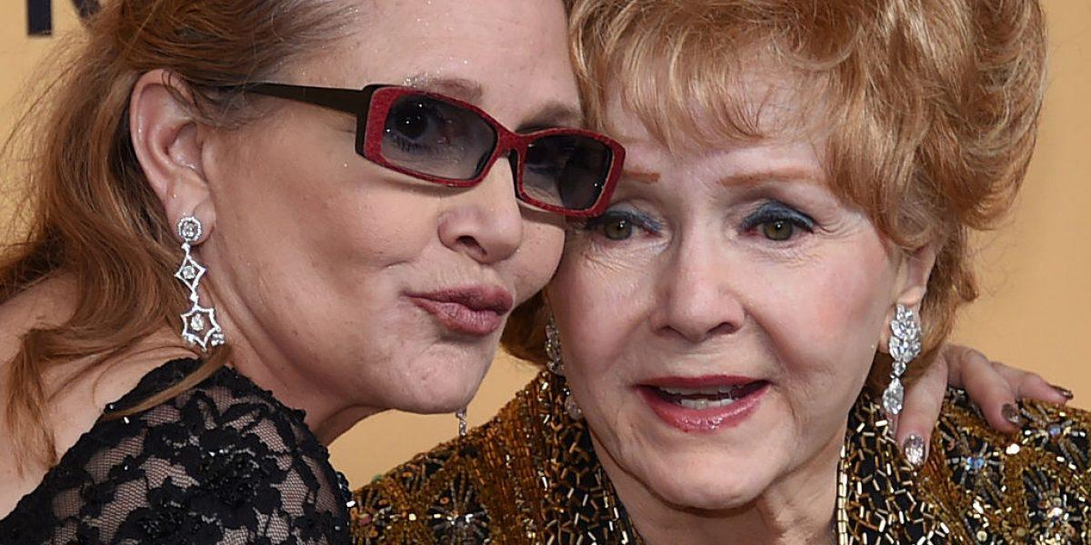 Debbie Reynolds, madre de Carrie Fisher fallece a los 84 años
