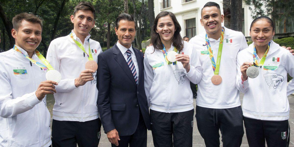 Gobierno de México otorga premios de Deportes y de Mérito Deportivo